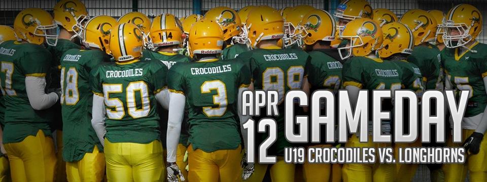 Die U19 der Crocodiles starten am 12.04. in die Saison 2015.
